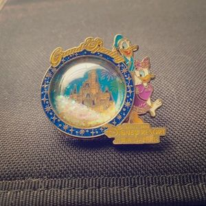 Disney pin Shanghai resort grand opening pin.